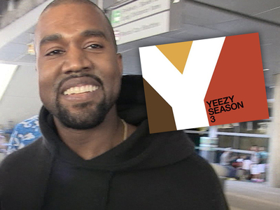 Kanye West -- Congrats On Guessing My Album Name ... Now, Don't Screw It Up!! (PHOTOS)