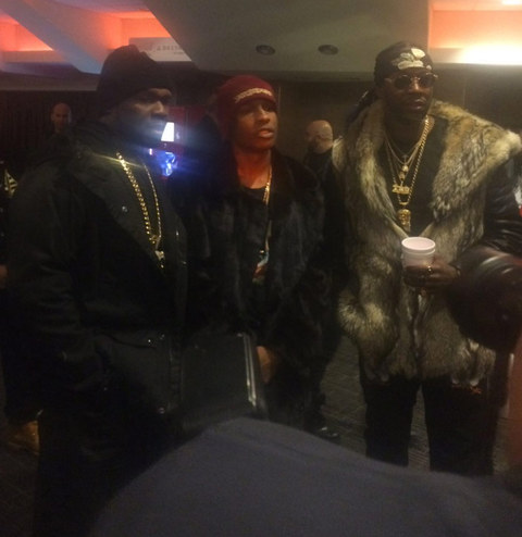 50 Cent, ASAP Rocky and 2 Chainz