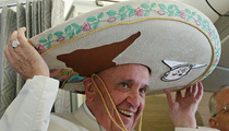 Pope Francis -- Manana, Cuba ... I'm Going to Mexico! (PHOTO)