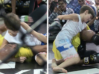 Anderson Silva -- This 10-Year-Old Can Fight!!! (VIDEO)