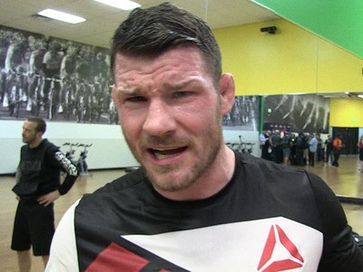 UFC's Michael Bisping -- PEDs Broke Anderson Silva's Penis (VIDEO)