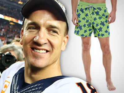 Peyton Manning -- $250 Bathing Suit? Yep.