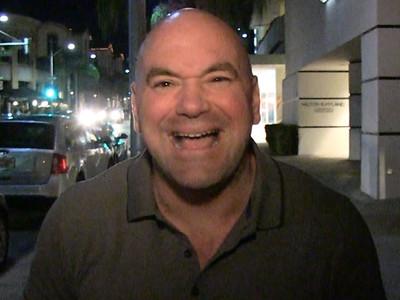 Dana White -- Defends Ronda Rousey's Trainer ... Sorta