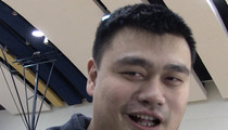 Yao Ming -- Where'd I Learn English?? The Locker Room, Homie! (VIDEO)