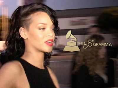 Rihanna -- Meltdown at the Grammys