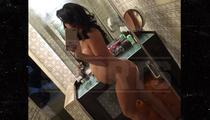 Antonio Cromartie's Wife -- Channels Her Inner Kim K ... For Sexy Preggo Photo