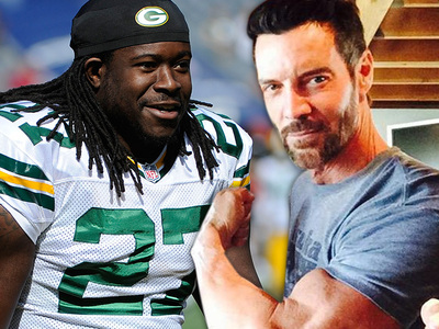 Eddie Lacy -- Hardcore Training With P90X Creator? Sure Looks Like It