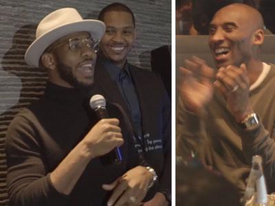 Kobe Bryant -- Roasted By NBA Stars ... Here's a Cane, Old Man! (VIDEO)