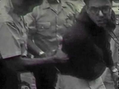 Bernie Sanders -- Video of Arrest Reinforces Civil Right Activism (VIDEO)