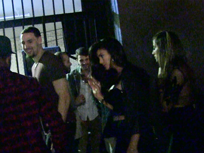 Klay Thompson -- Hits Club After Clippers Win ... Leaves with Hot Chicks (VIDEO)