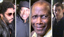 Sidney Poitier -- Birthday Bash ... Honored by Denzel, Lenny ... and Nick Jonas???