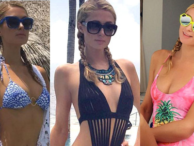 21 Sexy Photos Of Paris Hilton in Paradise ... Trip Out!