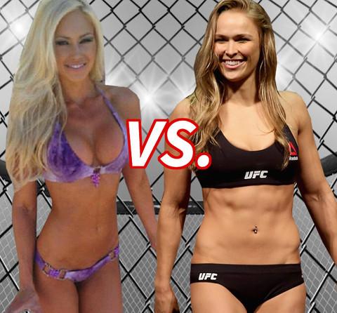 Bigger Knockout? Jenna Webb (28) vs. Ronda Rousey (29)