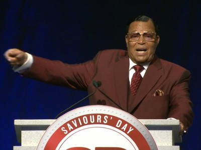 Louis Farrakhan -- NBA Is Modern Day Slavery ... They Buy Us, Trap Us