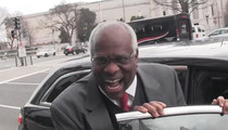 Supreme Court Justice Clarence Thomas -- Hysterics after Long Lunch (VIDEO)