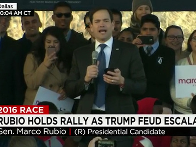 Sen. Marco Rubio -- Self Destructs Trying to Out-Trump Trump (VIDEO)