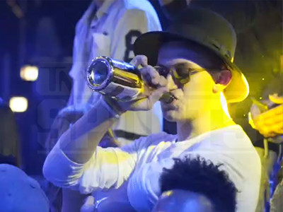 Johnny Manziel -- Boozin' at Nightclub ... Hours After Case Sent To Grand Jury