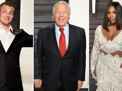 Athletes Do The Oscars -- Serena, Aaron, Kraft ... And GRONK (PHOTOS)