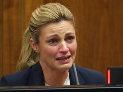 Erin Andrews -- Tearful Testimony in Peeping Tom Case