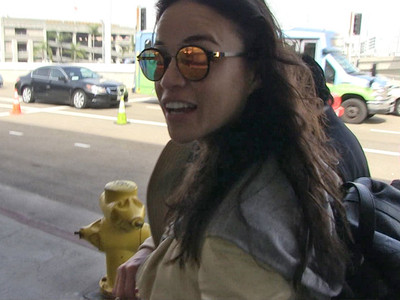 Michelle Rodriguez -- Yeah, I Shaved My Pits ... But NOT Just for Oscars (VIDEO)