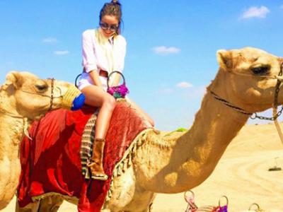 11 Snapshots Of Stars With Camels ... Happy Hump Day!