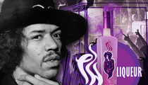 Jimi Hendrix -- Purple Crazed Over Fine Liquor