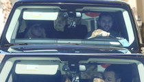 Christina Aguilera's Fiance Caught DWB ... Driving with Baby in His Lap (PHOTOS)