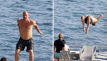 Woody Harrelson -- Natural Born Backflipper! (PHOTOS)