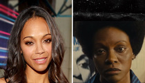 Zoe Saldana -- Not Black Enough? Nina Simone Estate Lashes Out