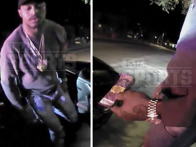 Jaelen Strong Arrest -- The Weed's In My Crotch (Police Video)