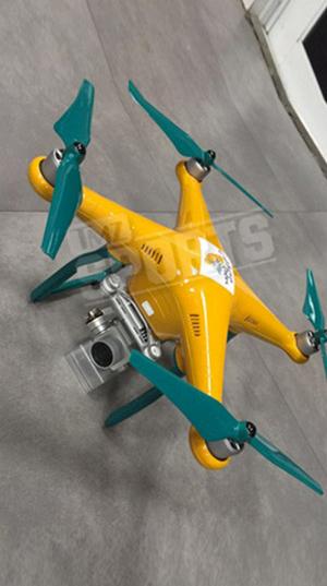 Novak Djokovic's Pimped Out Drone