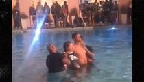 Jameis Winston -- Baptized with GF ... In Spiritual NFL Retreat (VIDEO)