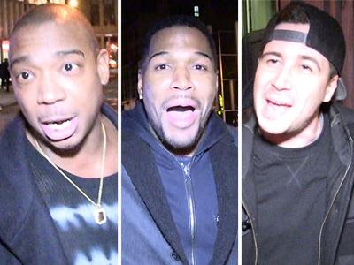 Strahan, Ja Rule, Vinny -- Celebs Shocked at McGregor Loss