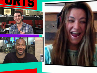 Miesha Tate -- Ronda Wants to Get Knocked Up ... I'll Knock Her Out (VIDEO)