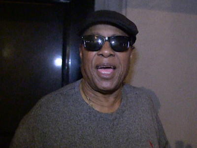 Stevie Wonder -- Hell Yeah I Love The Pistons ... I SAW The Bad Boys Play (VIDEO)