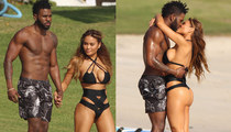 Jason Derulo & Daphne Joy -- Hardcore Beach Bums (PHOTOS)