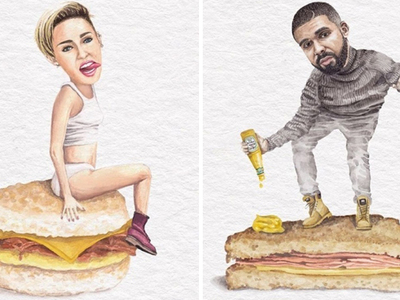 Stars On Sandwiches -- See Instagram's Deli-cious Prints