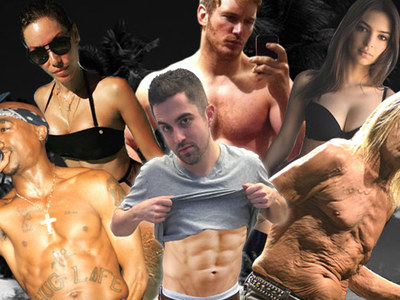 TMZ Staff Picks -- Best Celeb Stomach?!