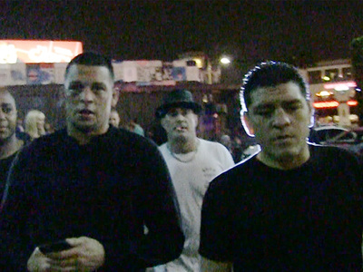UFC's Nate Diaz -- Rocks Black Eye to Nightclub ... Proud Of It! (VIDEO)