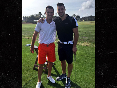 Tim Tebow -- Golf Tourney Raised $1 MILLION For Kids Charities