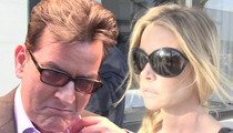 Charlie Sheen -- No Dough Left for Denise Richards Either