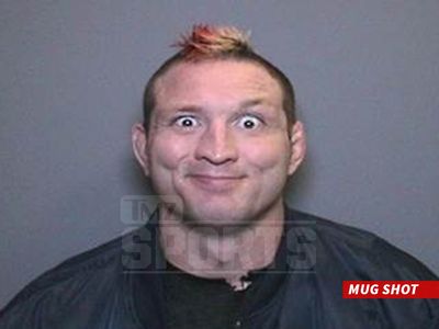 Mayhem Miller -- Ex-UFC Star Arrested Again ... $1,000,000 Bail (MUG SHOT)