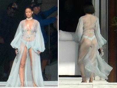 Rihanna -- Locked, Loaded ... And Smoking Hot! (PHOTO)