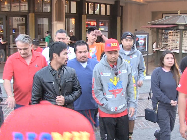 Manny Pacquiao Re-Banned from The Grove We Don't Welcome Gay Haters