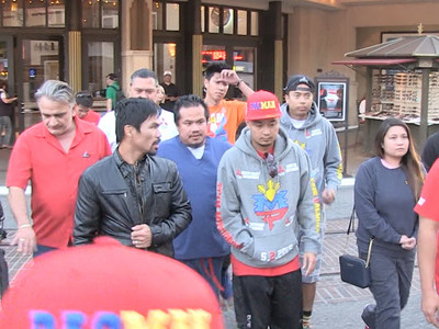 Manny Pacquiao -- Re-Banned from The Grove ... We Don't Welcome Gay Haters