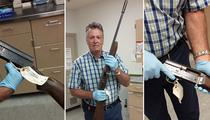 Kurt Cobain -- Suicide Gun Unveiled (PHOTOS)