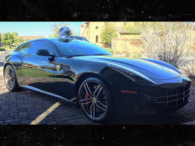 Richie Incognito -- Jokes About Smashing Ferrari ... 'I'd Hit It'