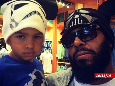Suge Knight -- 6-Year-Old Son Booted From Courtroom