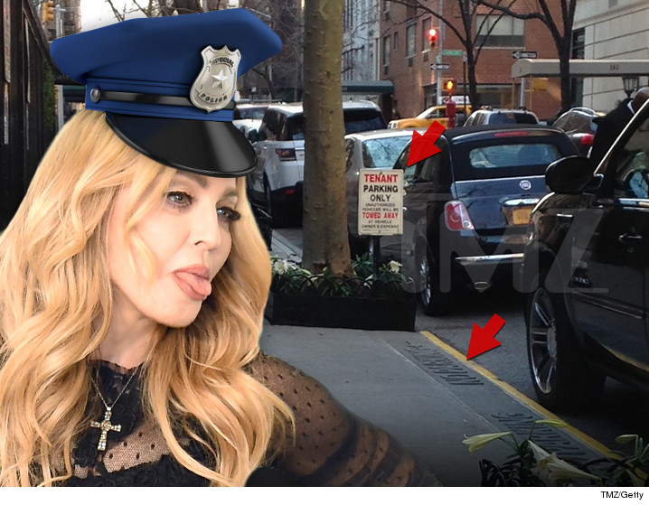 Madonna Busted For Posting Fake Signs To Hoard NYC Parking Spaces