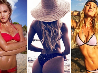 25 Sexy Photos Of Candice Swanepoel To Celebrate The Soon-To-Be MILF